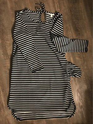 Tom Tailor Denim Sweater Dress white-black