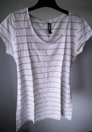 Geringeltes T-Shirt Größe M