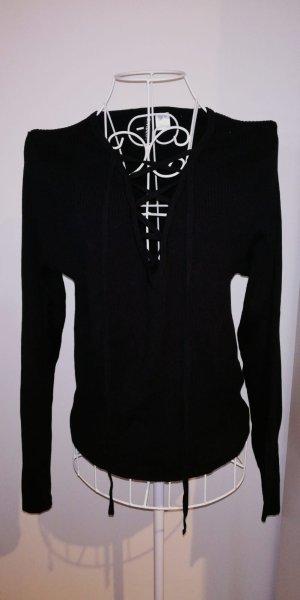Gerippter Sweatshirt