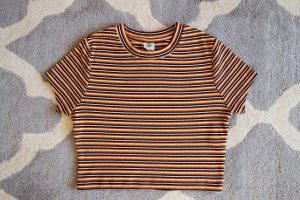 Urban Outfitters Cropped shirt veelkleurig