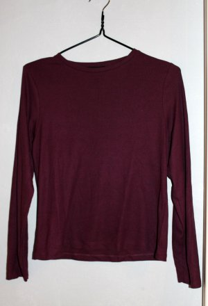 Atmosphere Cropped Shirt purple