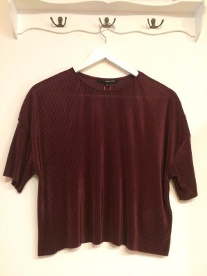 Geripptes Shirt, Cropped Top, T-Shirt