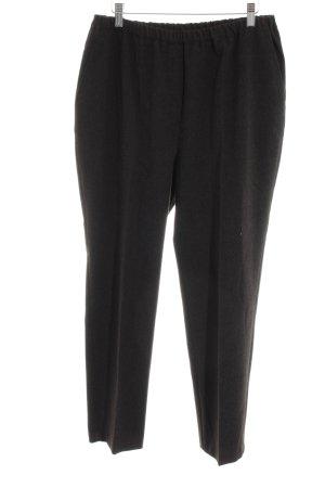 Gerke Pantalone a pieghe nero stile casual