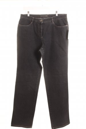 Gerke Stretch Jeans dunkelgrau Casual-Look