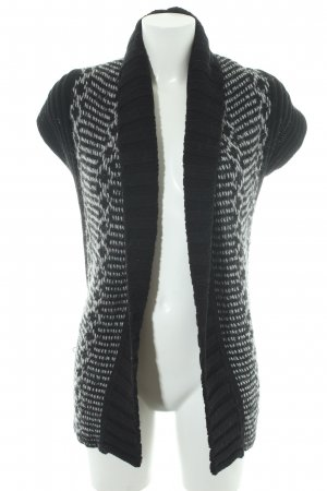 Germano Zama Kurzarmstrickjacke mehrfarbig Casual-Look