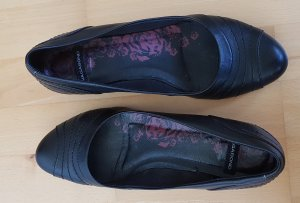 Vagabond Patent Leather Ballerinas black