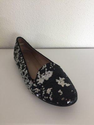 Gero Schuhe mit Pailletten