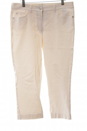 Gerry Weber 3/4 Length Trousers cream casual look