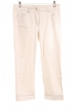 Gerry Weber 3/4 Length Trousers oatmeal casual look