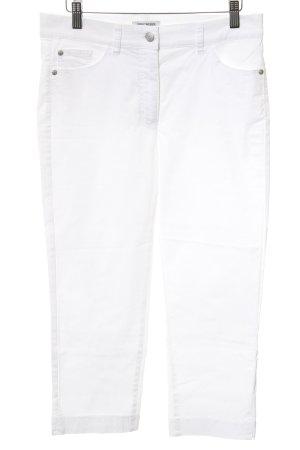 Gerry Weber 3/4-broek wit casual uitstraling