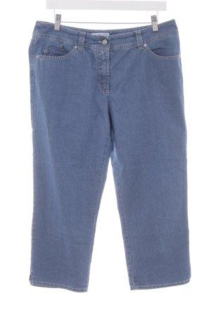 Gerry Weber 3/4 Jeans stahlblau Casual-Look