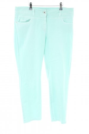 Gerry Weber 7/8 Length Trousers turquoise casual look