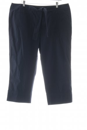 Gerry Weber Pantalone a 7/8 blu scuro stile casual