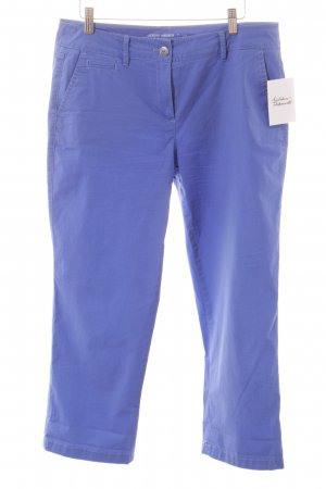 Gerry Weber 7/8-Hose stahlblau Casual-Look