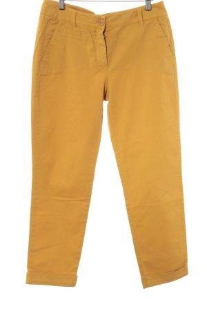 Gerry Weber Jeans a 7/8 giallo-oro stile casual