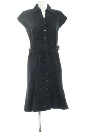 Gerry Weber A-Linien Kleid schwarz Casual-Look