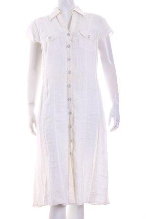 Gerry Weber A-Linien Kleid weiß Casual-Look