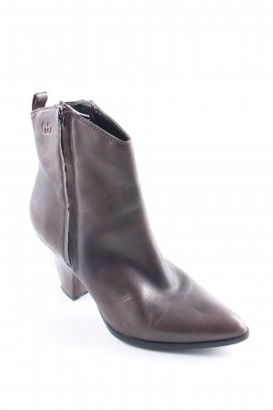 Gerry Weber Ankle Boots dunkelbraun Casual-Look