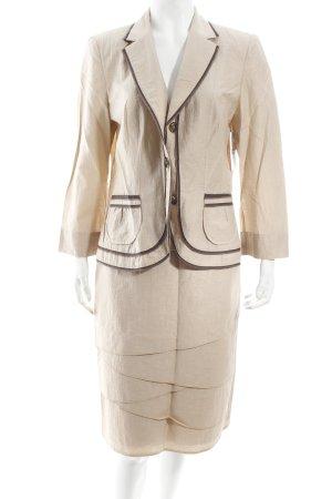 Gerry Weber Anzug beige-braun Eleganz-Look