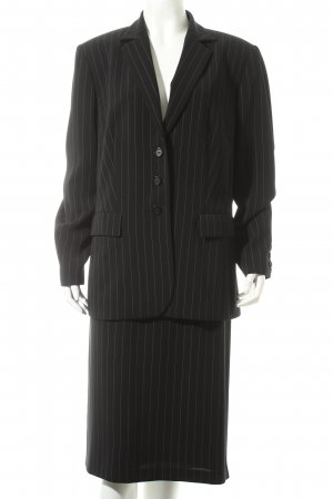Gerry Weber Anzug schwarz-weiß Nadelstreifen Business-Look