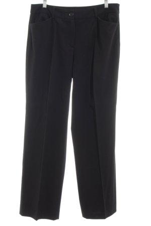 Gerry Weber Pantalon zwart zakelijke stijl