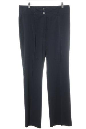 Gerry Weber Pantalón de vestir azul oscuro estilo «business»