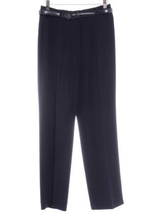 Gerry Weber Pantalone da abito blu scuro stile professionale