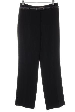 Gerry Weber Pantalone da abito nero stile professionale