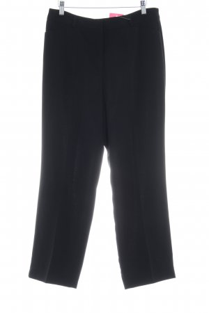 Gerry Weber Pantalon de costume noir élégant