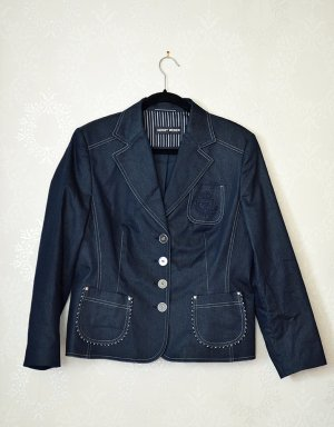 Gerry Weber Blazer Business Preppy Jeans Metallic NEU