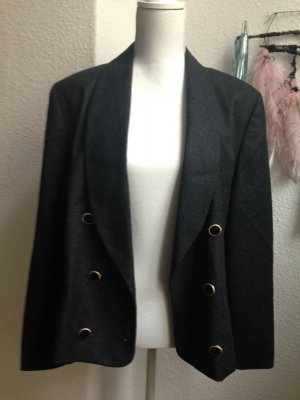 Gerry Weber Wool Blazer black-anthracite wool