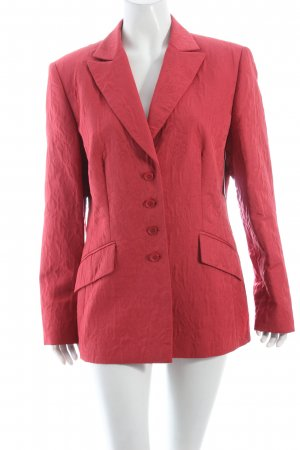 Gerry Weber Blazer rot florales Muster Business-Look