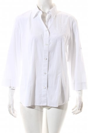 Gerry Weber Bluse weiß Casual-Look