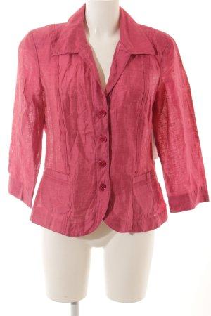 Gerry Weber Blusenjacke pink schlichter Stil