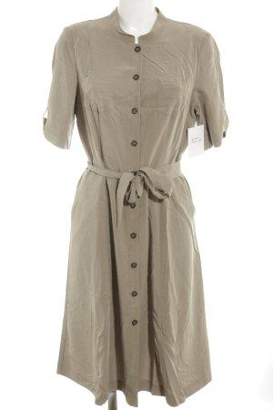 Gerry Weber Abito blusa marrone-grigio Stile anni '30