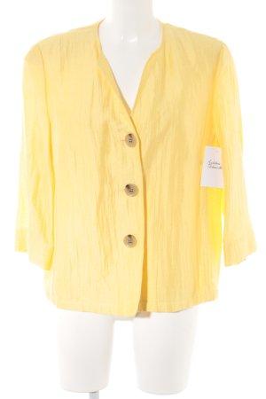 Gerry Weber Bolero giallo pallido stile casual