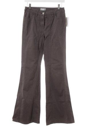 Gerry Weber Boot Cut Jeans dark brown casual look
