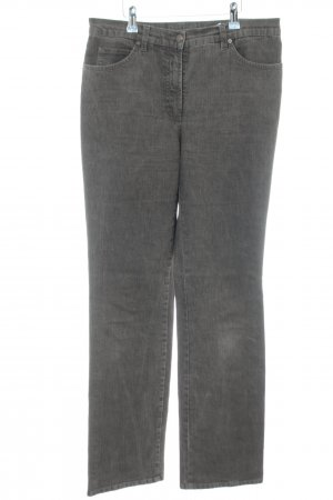 Gerry Weber Boot Cut Jeans graubraun Casual-Look