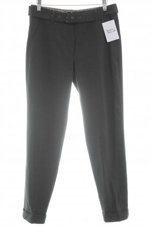 Gerry Weber Pantalone a pieghe antracite stile professionale