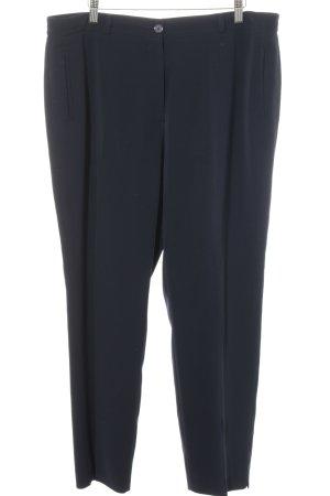 Gerry Weber Pantalon à pinces bleu foncé élégant