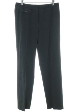 Gerry Weber Pantalone a pieghe nero-antracite stile casual