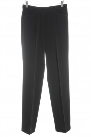 Gerry Weber Pantalon à pinces noir style d'affaires
