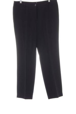 Gerry Weber Pantalone a pieghe nero stile professionale