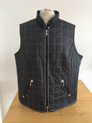Gerry Weber Quilted Jacket black-white