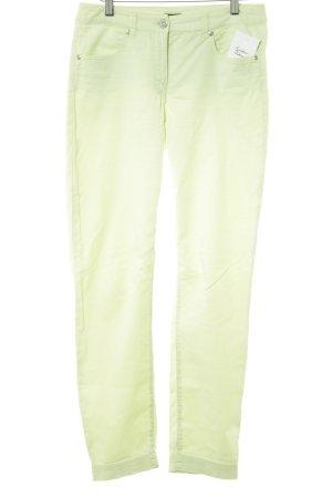 Gerry Weber Pantalone chino verde pallido stile casual