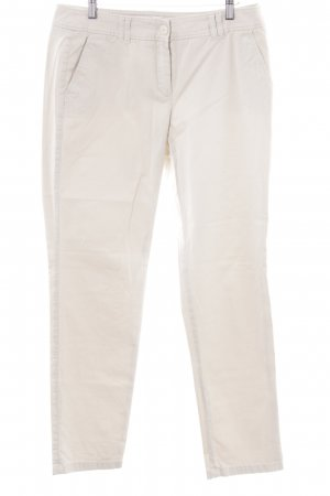Gerry Weber Chinohose creme Business-Look