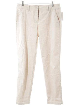 Gerry Weber Pantalone chino crema stile casual