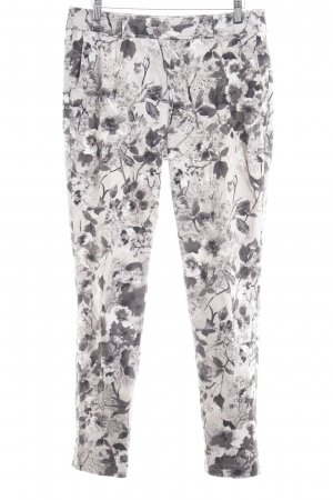 Gerry Weber Chinohose florales Muster Casual-Look