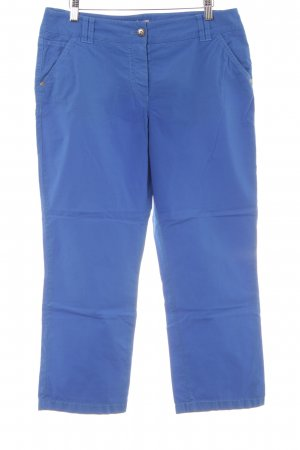 Gerry Weber Chinohose neonblau Casual-Look