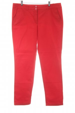Gerry Weber Chinohose rot Casual-Look